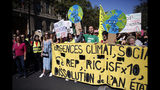 Climate activists step up protests in Britain and France