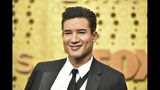 Mario Lopez arrives at the 71st Primetime Emmy Awards on Sunday, Sept. 22, 2019, at the Microsoft Theater in Los Angeles. (Photo by Richard Shotwell/Invision/AP)
