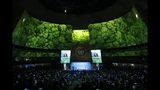 Una vista de la cumbre sobre el cambio climático en la sede de las Naciones Unidas en Nueva York el 23 de septiembre del 2019. (AP Photo/Jason DeCrow)