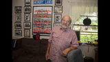 In this Oct. 9, 2019, photo, Joe Schiavone, 81, is seen in his home in West Melbourne, Fla. Schiavone will get a modest cost-of-living increase from Social Security for 2020,a political year in which many Democrats are calling for a boost in basic benefits and a more generous formula to compute annual inflation adjustments. (AP Photo/Mike Brown)