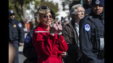 Jane Fonda returns to civil disobedience for climate change