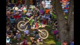 In this Aug. 24, 2019 photo, provided by Motocross Action Magazine. Adam Cianciarulo races during the Ironman National motocross race in Crawfordsville, Ind. Cianciarulo was one the next up-and-coming star in motocross. A series of injuries nearly chased him from the sport, but Cianciarulo has recovered is finally ready to ride toward the top. (Rich Shepherd/Motocross Action Magazine via AP)