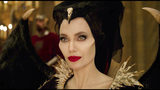 """This image released by Disney shows Angelina Jolie as Maleficent in a scene from """"Maleficent: Mistress of Evil."""" (Disney via AP)"""