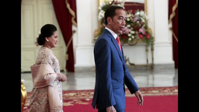Indonesia`s popular president to be sworn in for final term