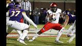 Cincinnati's Michael Warren II (3) avoids a tackle by East Carolina's Xavier Smith (37) during the second half of an NCAA college football game in Greenville, N.C., Saturday, Nov. 2, 2019. (AP Photo/Karl B DeBlaker)