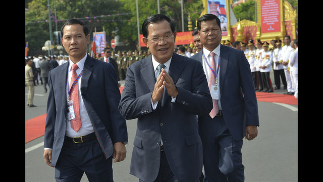 The Latest: Cambodia`s opposition leader lands in Malaysia