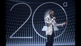 Host Ricky Martin speaks at the 20th Latin Grammy Awards on Thursday, Nov. 14, 2019, at the MGM Grand Garden Arena in Las Vegas. (AP Photo/Chris Pizzello)