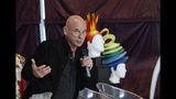 FILE - In this Monday, April 20, 2015, file photo, Cirque du Soleil founder Guy Laliberte speaks at a news conference in Montreal. Police said Wednesday, Nov. 13, 2019, that Laliberte has been detained in French Polynesia in a drug trafficking investigation. (Ryan Remiorz/The Canadian Press via AP, File)