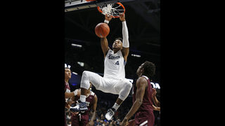 No 21 Xavier Holds On For 59 56 Win Over Missouri State Boston 25 News