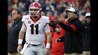 No 5 Georgia Holds On Beats No 13 Auburn 21 14 Kiro