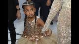 En esta foto del 28 de agosto del 2016, Blue Ivy, hija de Beyoncé y Jay-Z, llega a la ceremonia de los Premios MTV a los Videos Musicales en el Madison Square Garden en Nueva York. (Foto por Chris Pizzello/Invision/AP, Archivo)