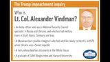 Profile of congressional witness Lt. Col. Alexander Vindman;
