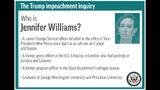 Profile of congressional witness Jennifer Williams;