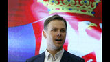 """FILE - In this Sunday, April 2, 2017 file photo, Sinisa Mali attends a press conference after presidential election in Belgrade, Serbia. Serbia's finance minister faced calls to resign Thursday, Nov. 21, 2019 after a university said he plagiarized parts of his Ph.D. thesis. Belgrade University, one of Serbia's most prestigious places of learning, said in a statement that Sinisa Mali """"literally took over texts, or entire paragraphs, from the texts of other authors without listing the names of the authors."""" (AP Photo/Darko Vojinovic, file)"""