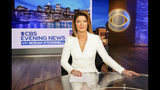 "This image released by CBS shows Norah O'Donnell, host of the new ""CBS Evening News with Norah O'Donnell."" CBS will broadcast their evening news show from a new studio in Washington, beginning Monday, Dec. 2. (Michele Crowe/CBS via AP)"