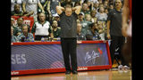 Michigan State head coach Tom Izzo reacts to play against Virginia Tech during the second half of an NCAA college basketball game Monday, Nov. 25, 2019, in Lahaina, Hawaii. (AP Photo/Marco Garcia)