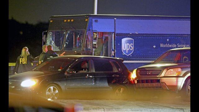 Hostage killed in shootout was on his first day on the job as a UPS driver