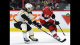 Duclair has 3-point game, Senators beat Bruins 5-2